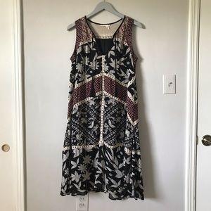 Anthropologie Grassland Midi Dress